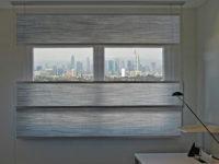 transparentes Vorhangsystem