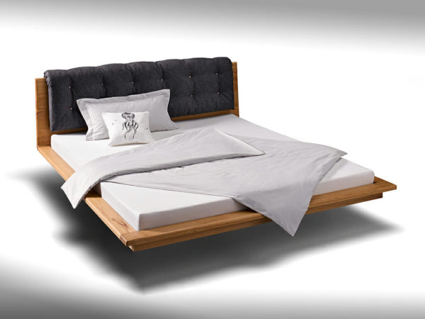 bed without side border