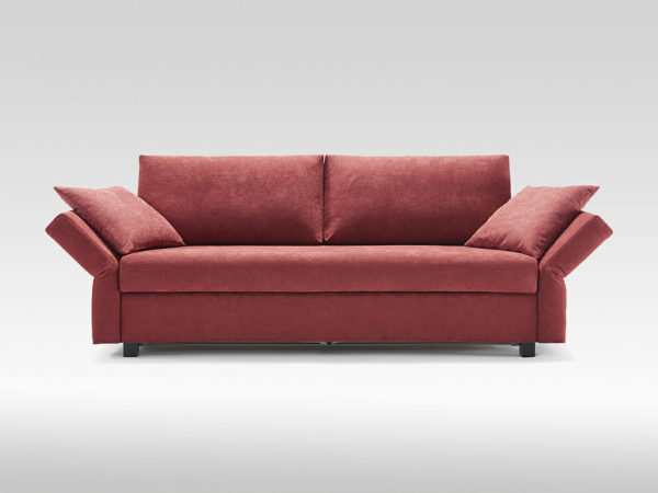 sofa bed with integrated mattress