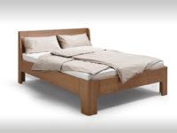 Bett mit gerundeten Ecken