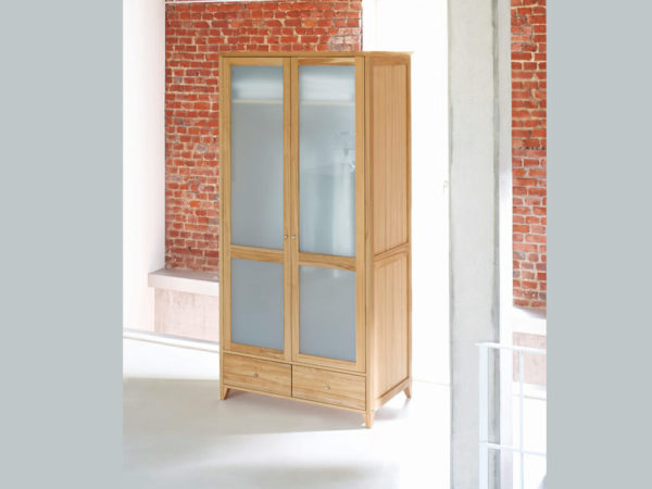 wardrobe with two doors