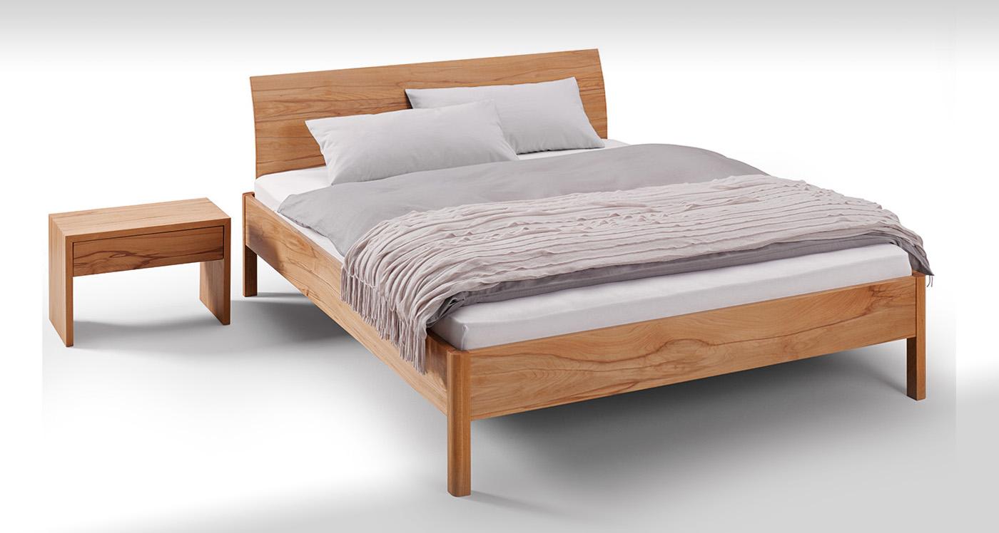 Leichtes einfaches Bett