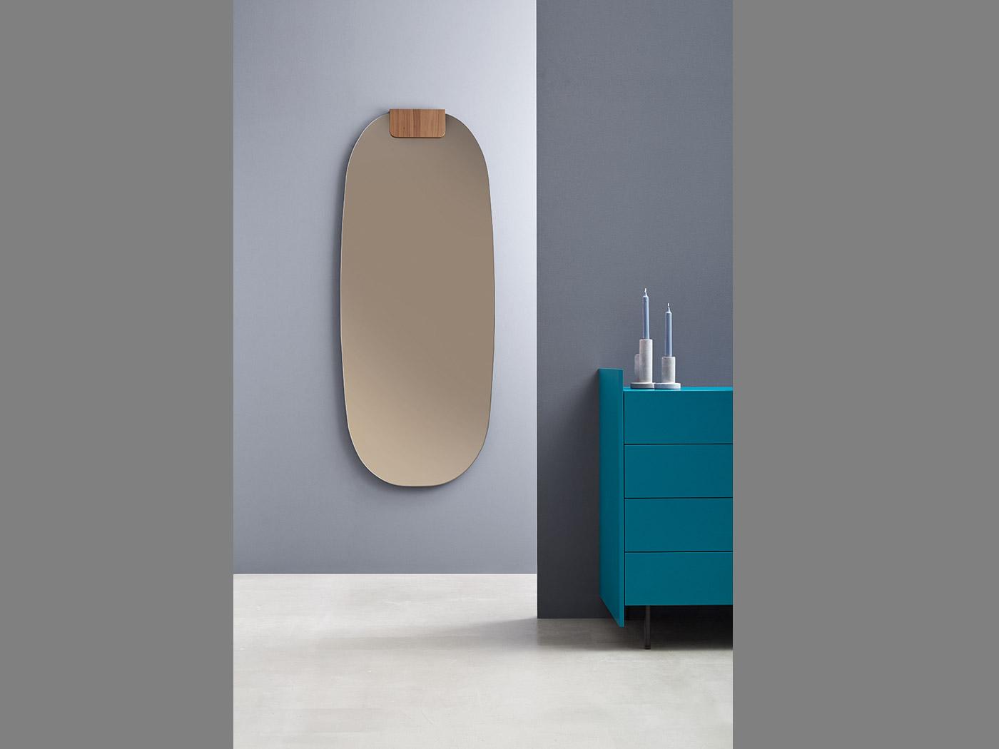 Farbig getönte Spiegel