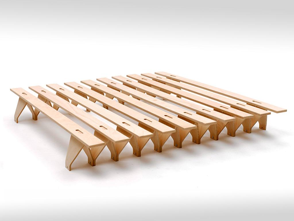 erweiterbares Bett