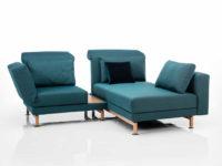 Moule, Sessel und Liege