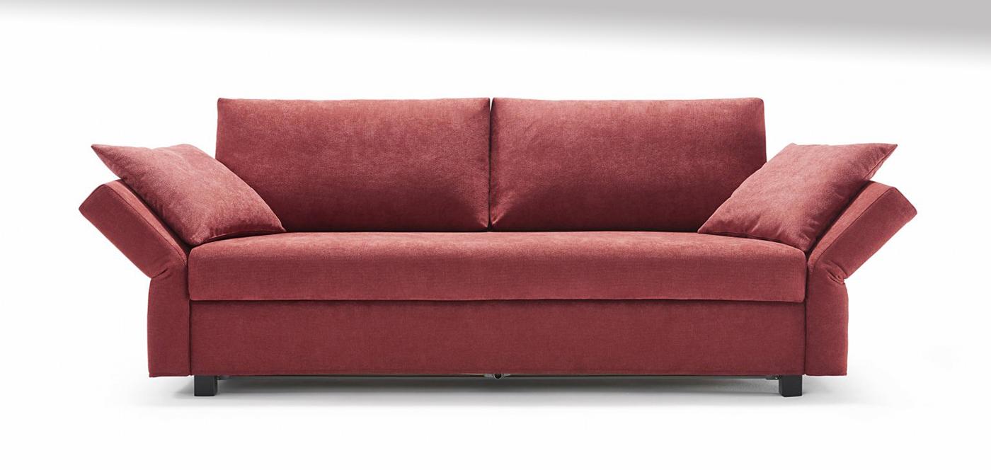 Sofa mit ausfaltbarer Mattratze