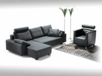 Chaiselongue links, Schlafsofa 136 recht