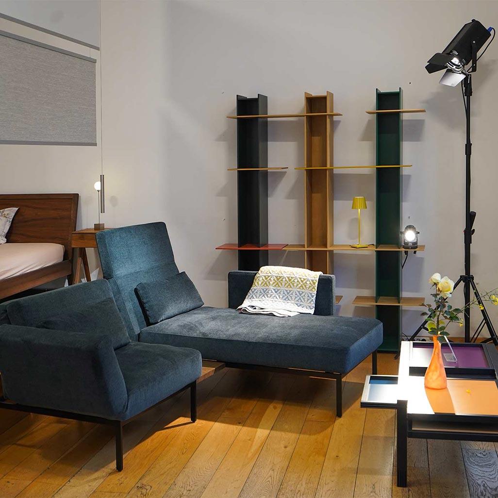 Schlafcouch mit Liege bei bios affair in Frankfurt