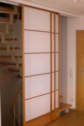 Raumteiler Treppenhaus offen