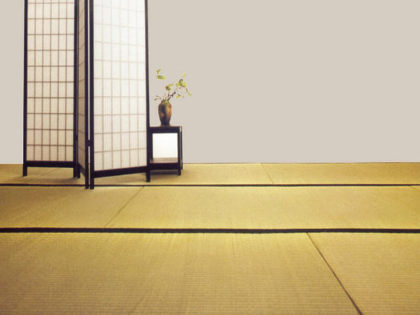 Japanische Reisstrohmatten - Tatami Matten